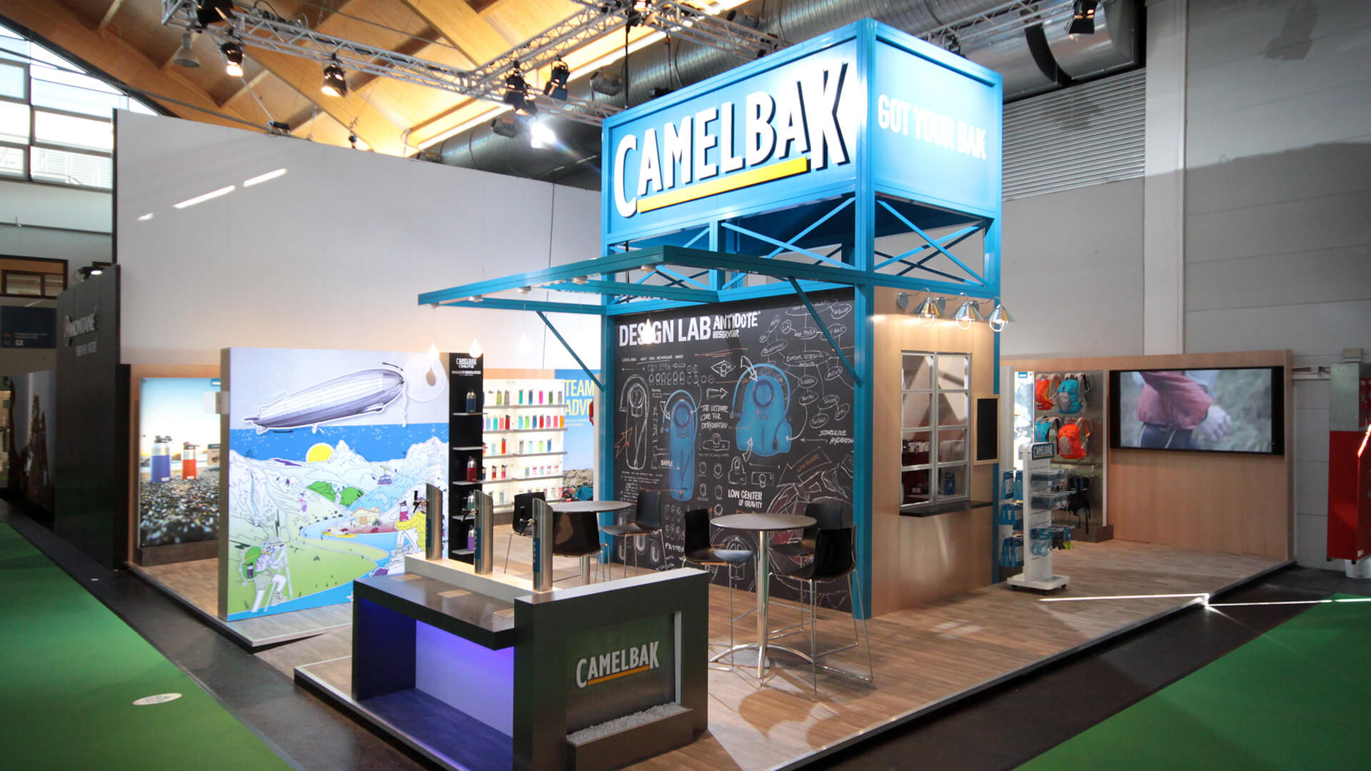 Camelbak Exhibit